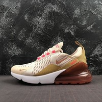 """Wmns Nike Air Max 270 """"Cream Tint"""" Running Shoes - Best Online Sale"""