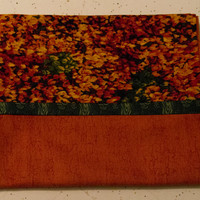 Orange, Red, Yellow, and Green Pillowcase  - Decorative Pillow Case - Fall Bedroom Decor