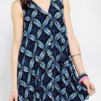 Staring At Stars Button-Down Swing Dress