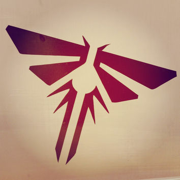 The last of us Firefly Anime Vinyl Decal Sticker