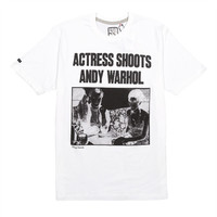 The Arts Tee (White) – Play Cloths