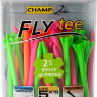 CHAMP Zarma FLYtee 2 3/4'' Neon Golf Tees - 30 Pack | Golf Galaxy