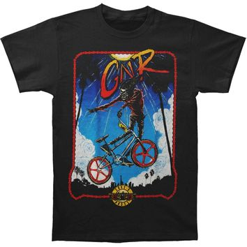 Guns N Roses Men's  BMX Tee T-shirt Black