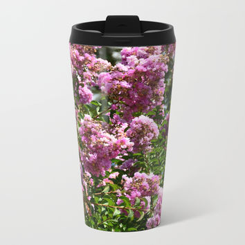 Summer Garden Metal Travel Mug by ArtGenerations