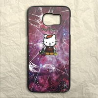 Nebula Hello Kitty Daryl Dixon Samsung Galaxy S6 Case