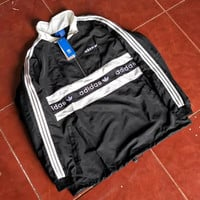 adidas Fashion Long Sleeve Pullover Sweatshirt Top Sweater