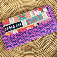 Fiona Wallet-Women's Wallet-Retro Gum Wrapper Print!