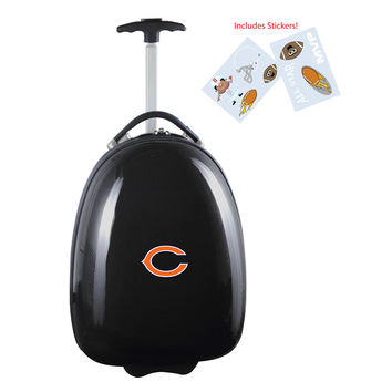 Chicago Bears  Kids Pod Luggage-Black