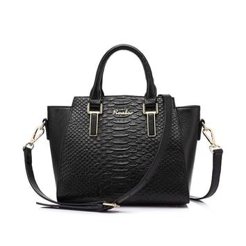 Luxury Designer Genuine Leather Shoulder Bag