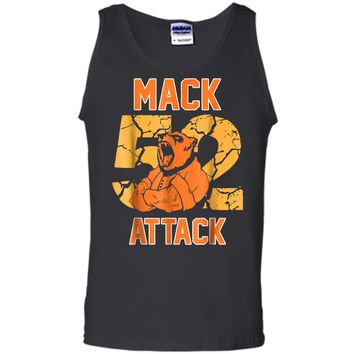 Mack Attack 52 Chicago Football  New Player Tank Top
