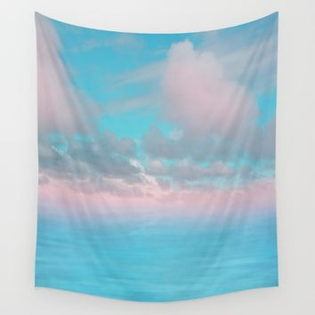 The Sea is Calm 03 Wall Tapestry by NaturalColors
