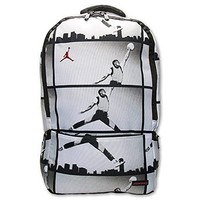 Nike Air Jordan Haj Tablet / Laptop Backpack in Black and White