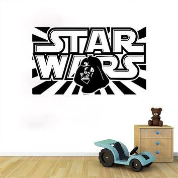 Movie Star War Letter Quotes Wall Art Stickers