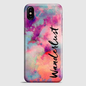 Wanderlust iPhone X Case