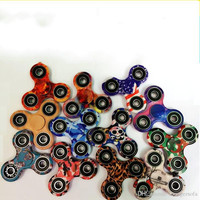 9 9xy Tri Rotation Camouflage Hand Spinner Puzzle Fidget Spinners Spinning Top Toys For Boy Children Adult EDC Finger Toy Popular
