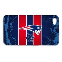 Blue New England Patriots Football Phone Case iPhone 4 4s 5 5c 5s 6 6s iPod Hot