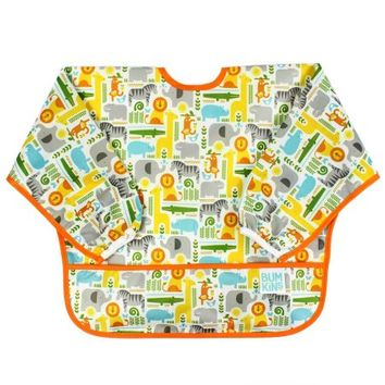 Bumkins Petit Collage Sleeved Bib, Safari Mix - Walmart.com