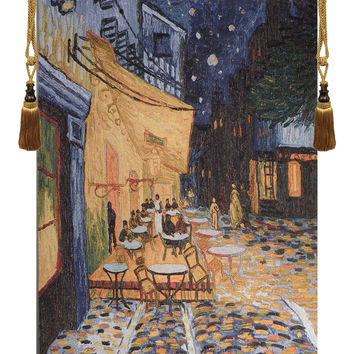 Cafe Terrace at Night - Van Gogh Tapestry Wall Art