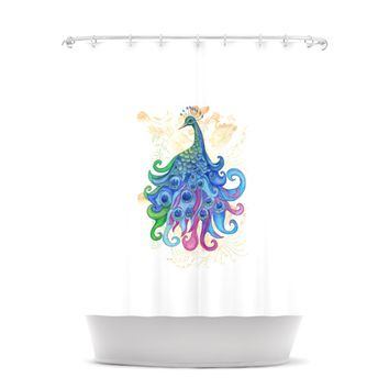 "Catherine Holcombe ""Peace"" Shower Curtain"