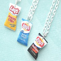 Lay's Potato Chips Necklace