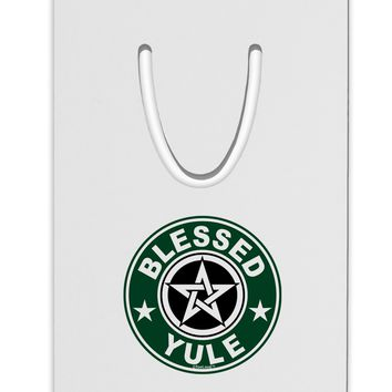 Blessed Yule Emblem Aluminum Paper Clip Bookmark by TooLoud