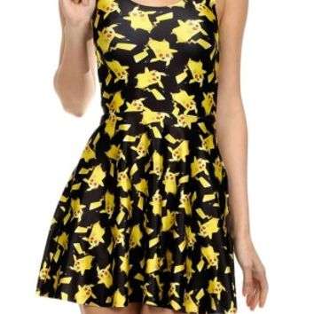 Women's Pikachu Skater Dress