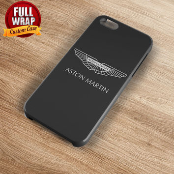 Aston Martin Automobile Car Logo Full Wrap Phone Case For iPhone, iPod, Samsung, Sony, HTC, Nexus, LG, and Blackberry