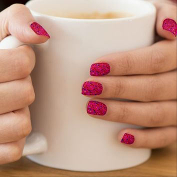 Minx Nails Polka Dot Sparkley Jewels
