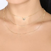 Cara Necklace - Gold
