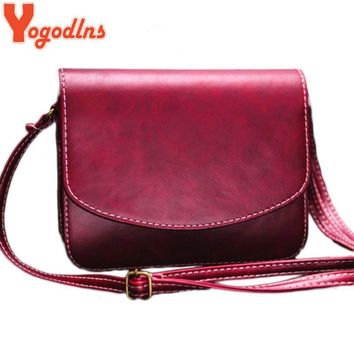 Yogodlns 2017 vintage casual handbags ladies party purse clutches women crossbody satchels shoulder messenger bags