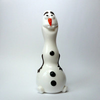 Handmade Olaf the Frozen Snowman Pipe