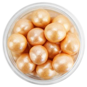 Pearly Copper Sugar Pearls 8MM