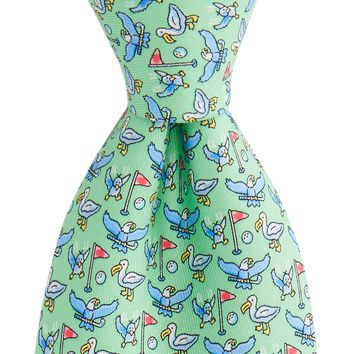 Vineyard Vines, Eagle, Birdy, Albatross Tie, Green