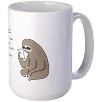 Sloth To Do List Mug