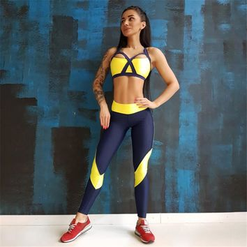 Sport Clothing Sport Suit Women 2018 Sport Wear Fitness Clothing Yoga Set Gym Clothing Jogging Suits Sportwear Yoga Outfit