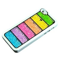 New Bling Rainbow Element Crystal Phone Cover Case for Iphone 4/4s