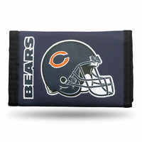 Chicago Bears Tri-Fold Nylon Wallet