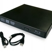 Blu-Ray Player External USB DVD RW Laptop Burner Drive