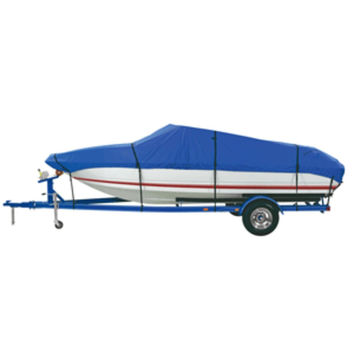 Dallas Manufacturing Co. Custom Grade Polyester Boat Cover A 14-16 V-Hull Fishing Boats - Beam width to 68