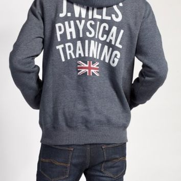 Batsford Wills Gym Pop-Over Hoodie