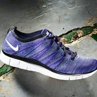 "Free Flyknit ""court Purple"""