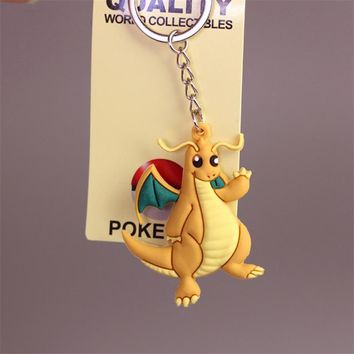 Pikachu Keychain Pocket Monsters Key Holder Pokemo