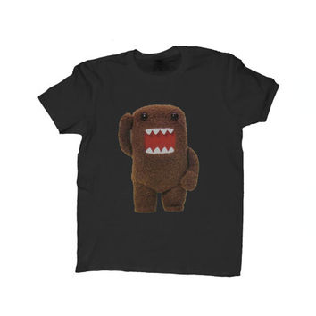Domo-Kun Monster White Unisex T-Shirt Furry Animal NHK Japanese Character Shirt