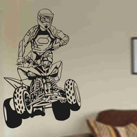 Quad Rider MX X Games Version 101 Vinyl Decal Sticker Wall