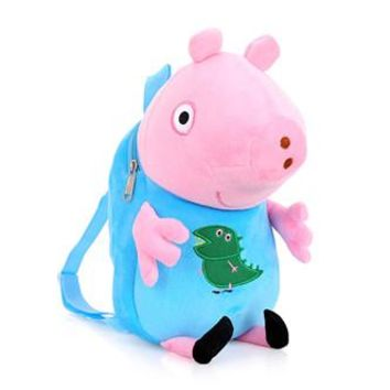 Girls bookbag Kids peppa pigs bags girl Backpacks Baby Girls Boys Cute Schoolbag Children Cartoon Bookbag Kindergarten Toys Gifts School Bags AT_52_3