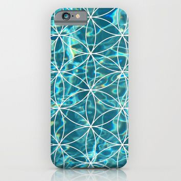 Flower of life in the water iPhone & iPod Case by Azima