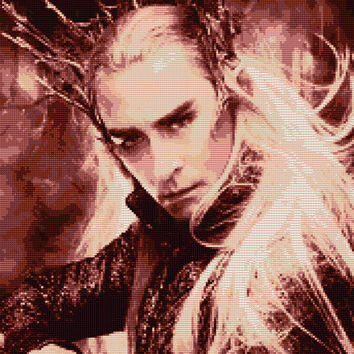 Thranduil Cross Stitch Pattern (Large)
