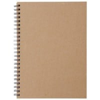 Recycled Paper Note - Double Ring A5 - Plain 80