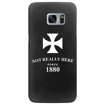 not really here tumblr gift present 1880 Samsung Galaxy S7 Edge