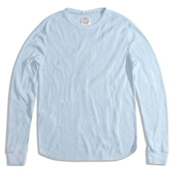 Lucky Brand Lived In Thermal Crew Mens